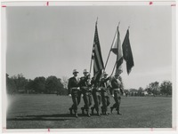 Cadet Color Guard Marching