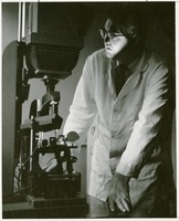 Scientist with an Instrument