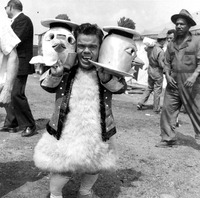 Jimmy Armstrong in costume
