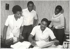 African American FSU Staff Working Together