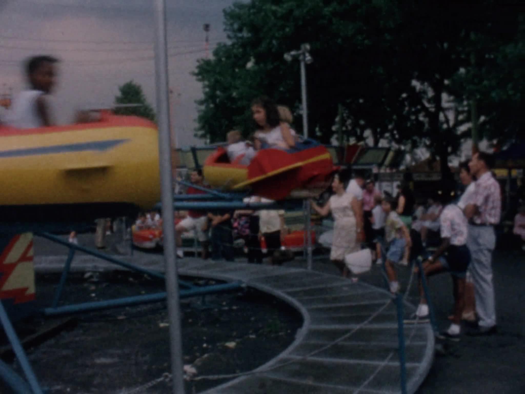 Barbara Bailey with Kids at Palisade Park, Part I