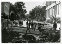 Construction in Front of Bellamy Building