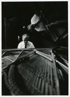 Edward Kilenyi Classical Pianist, in Rehearsal for a Concert