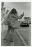 Young Female Hitchhiker on Tennessee Street