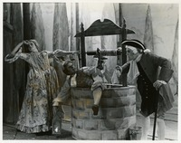 "Three Students in the Scene from ""Flora"""