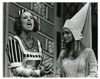 "Two Actors in a Scene from ""A Comedy of Errors"""