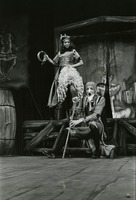 "Tracy Callahan and Breck McCollum in a Scene from ""The Follies of Scapino"""