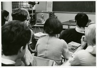 "Students Watching an ""Uninterrupted"" Class on Television"