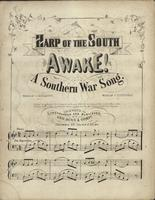 Harp of the South Awake! A Southern War Song