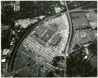Aerial View of an FSU Football Game at Campbell Stadium