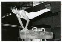 Mike Alter Performs on the Pommel Horse