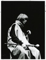 "Student Actor in a Performance of ""Exit the King"""