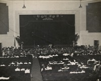 Band Performing in an Auditorium