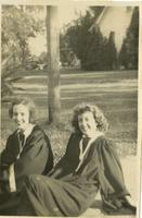 Bo Peep Shell and Ann Colvin on Graduation Day
