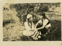 Two Women in Gypsy Costumes