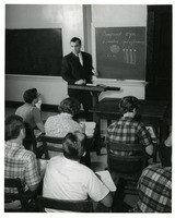 Dr. James Smith Teaching his Students