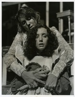 "Two Students in the Scene from ""The Miracle Worker"""