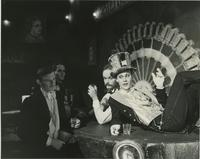 "Students Acting in the Scene from ""Cabaret"""