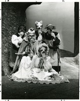 "Student Actors in a Performance of ""Reynard the Fox"""
