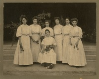 Group of Women Wearing White
