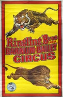 Ringling Bros. and Barnum and Bailey circus lion and tiger