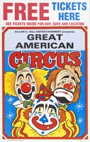 Great American Circus free tickets