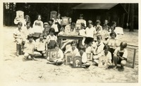 Basketry and Plaque Class (Camp Frances Archbold)