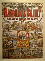 Barnum and Bailey Lalla Rookh show