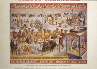 Barnum and Bailey greatest show on Earth