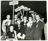 Florida delegates at the Democratic National Convention of 1944