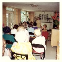 Crowd at a Women's National Democratic Club talk
