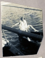 Unidentified Woman on a Boat