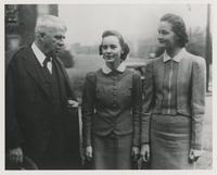 Robert Frost, Mart Hill and Wilma Johns