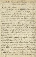 Letter from Edward Lear to Henry Bruce, November 24, 1865