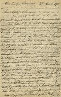 Letter from Edward Lear to Nora Bruce, April 25, 1875