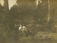 Unidentified Woman in Grass