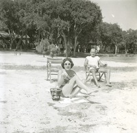 Man and Woman at Beach