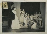 Group of Women Performing on Stage