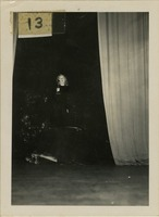 Unidentified Woman on Stage