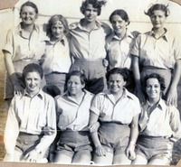 Even Volleyball Team 1930-1931