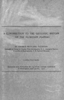 contribution to the geologic[al] history of the Floridian plateau