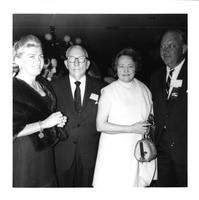 Claude and Mildred Pepper at an event with the Beatys