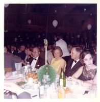 Claude and Mildred Pepper at the Democratic Congressional dinner