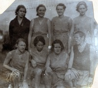 Even Volleyball Team 1931-1932