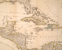 Maps of the Caribbean, 1584-1845