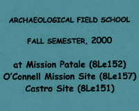 Castro Archaeological Site Administrative Documents