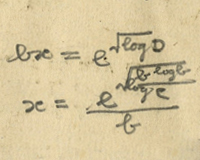 Miscellaneous Calculations