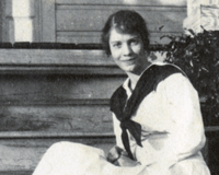 Laura Quayle Benson Scrapbook, 1917-1919
